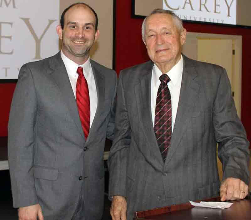 Retired Jackson Schools Superintendent Speaks at William