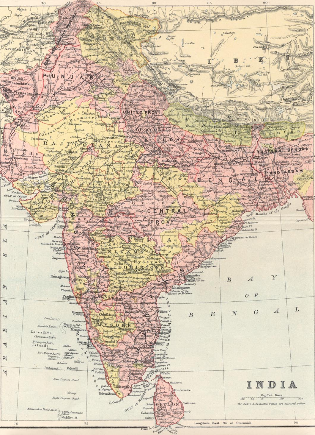 Gazetteer and maps india 19th century gumiabroncs Image collections