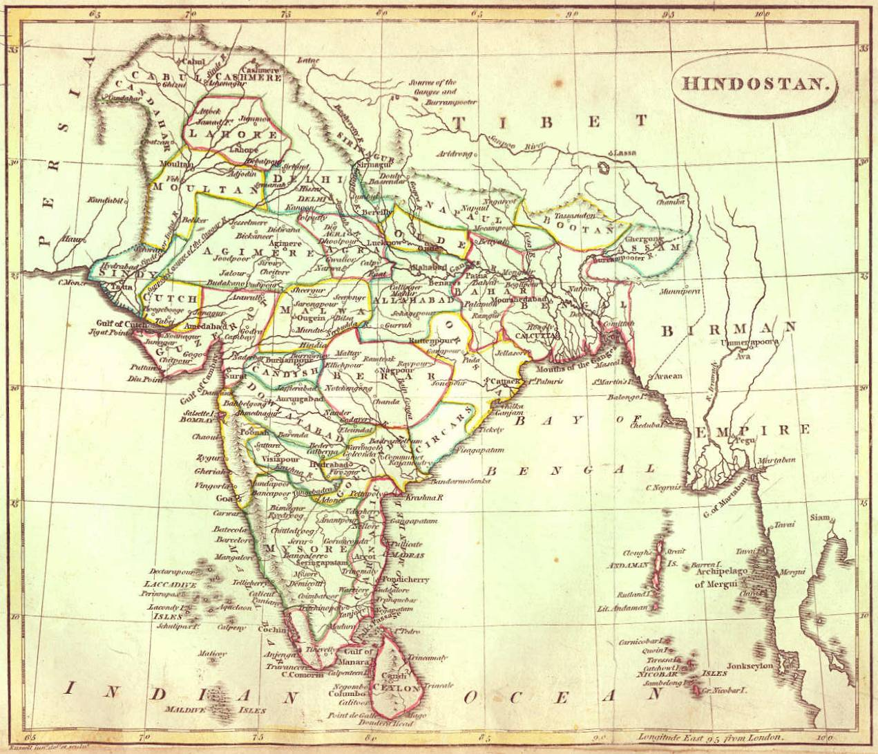 Gazetteer and maps india 1810 gumiabroncs Images