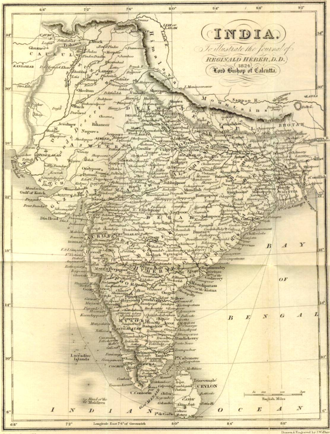 Gazetteer and maps india 1824 gumiabroncs Choice Image