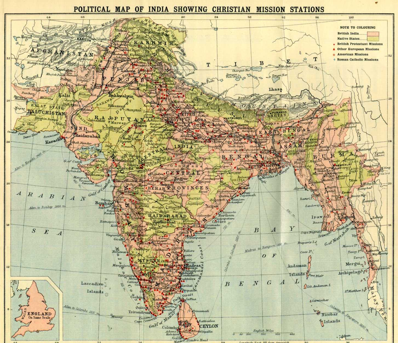 political religious divide in india